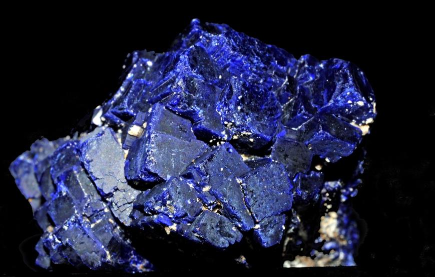 azurite cristallisŽe (Chine)